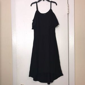 The Children's Place Black High Low Dress